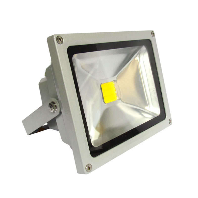 Led outdoor flood light MICROLED 30W, Cool white